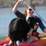 Jack goes kayaking