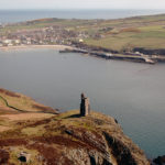 Port Erin from the air (by Dave Kneale)