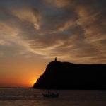 Bradda sunset