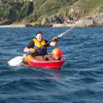 Paul goes kayaking