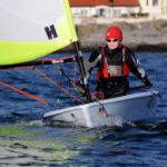 Training with the Manx Youth Sailing Squad