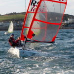 Pro sails in a breeze