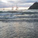 Sunset sail with Garwick Rangers