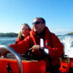 Powerboat trip