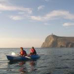 Evening kayak trip